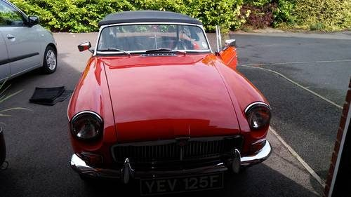 For Sale – MGB rare Mk 1 1967/68 overdrive Roadster