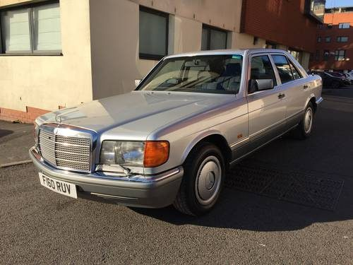 For sale w126 mercedes benz 300se 1989 classic cars hq for Mercedes benz w126 for sale