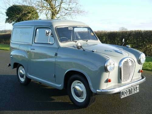 for sale 1967 austin a35 van classic cars hq. Black Bedroom Furniture Sets. Home Design Ideas