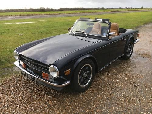 For Sale – 150 Bhp Triumph TR6 With Overdrive (1970