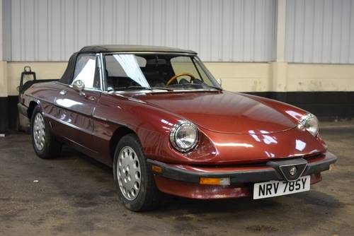 for sale 1983 alfa romeo spider series 3 lhd usa car 87k only classic cars hq. Black Bedroom Furniture Sets. Home Design Ideas