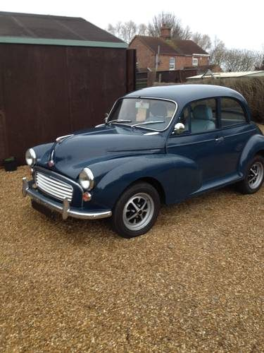 For Sale – Morris Minor 1 8 MGB Overdrive gearbox/conversion