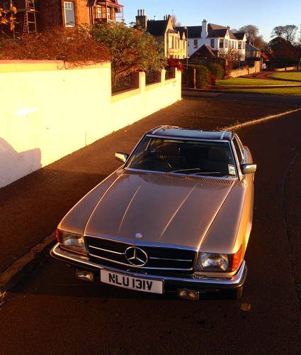 Mercedes 350 SL Roadster With Hardtop 91980