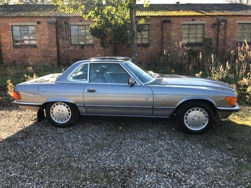 For sale 1987 mercedes benz 300 sl roadster classic for Classic sl mercedes benz for sale