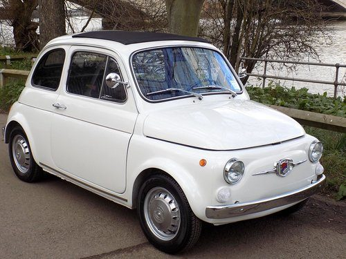 for sale 1970 fiat 500 tv giannini turismo veloce classic cars hq. Black Bedroom Furniture Sets. Home Design Ideas