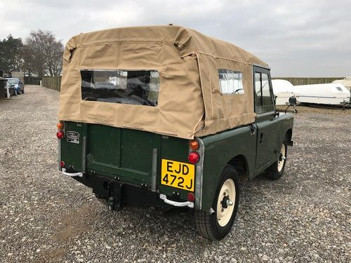 for sale 1970 land rover series 2a refurbished ragtop ejd classic cars hq. Black Bedroom Furniture Sets. Home Design Ideas