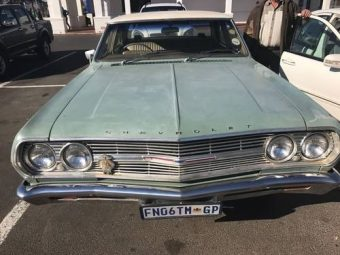 For Sale – Cheverolet Chevelle RHD 4d 230CI One Owner