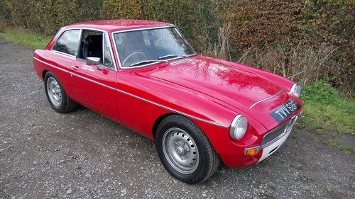 For Sale – 1968 MGC GT   Classic Cars HQ