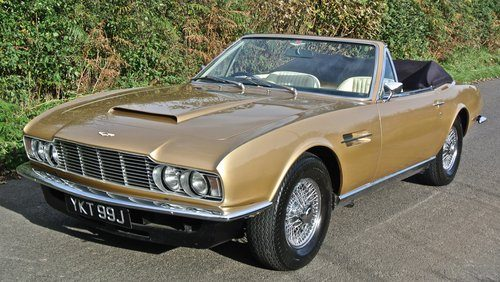 For Sale  U2013 1970 Aston Martin Dbs Volante 1 Of 6 Only