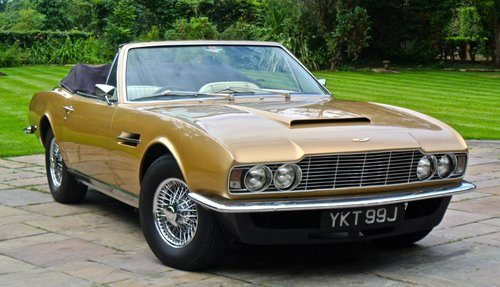 For Sale ASTON MARTIN DBS VOLANTE Convertible Of Only - Aston martin 1970 for sale