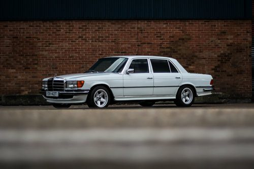 for sale 1979 lhd mercedes 450 sel 6 9 amg immaculate classic cars hq. Black Bedroom Furniture Sets. Home Design Ideas