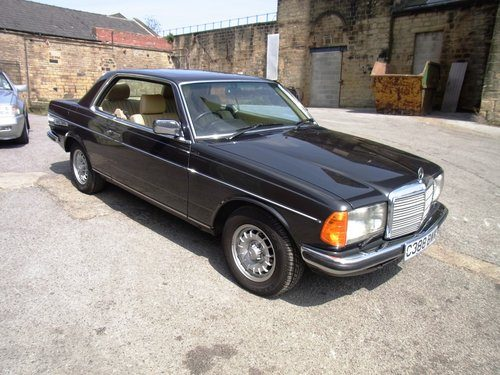 For Sale – 1985 Mercedes-Benz 280CE Coupe W123 | Classic