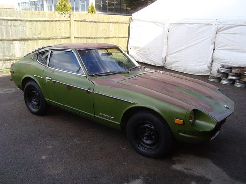 For Sale – DATSUN 260Z SWB MANUAL COUPE(1975)MET GREEN MATCHING ...