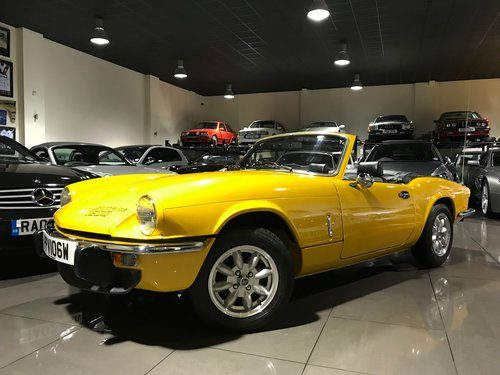 1980 TRIUMPH SPITFIRE 1500 MARK 4 ONLY 45628 MILES For