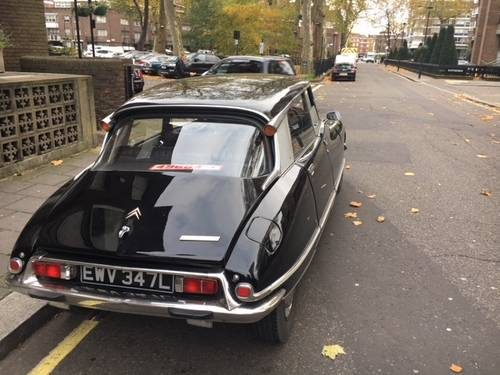 for sale black citroen ds 23 right hand drive 1974 classic cars hq. Black Bedroom Furniture Sets. Home Design Ideas