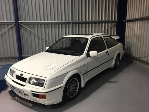 for sale 1987 ford sierra cosworth rs500 with only 12000 miles classic cars hq. Black Bedroom Furniture Sets. Home Design Ideas