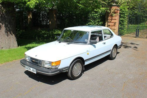 for sale 1987 saab 900 coupe bj rn classic cars hq. Black Bedroom Furniture Sets. Home Design Ideas