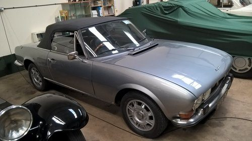 For Sale 1973 Peugeot 504 Cabriolet By Pininfarina Classic Cars Hq