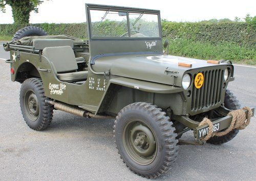 Willys Jeep For Sale >> For Sale 1943 Willys Jeep Iconic Military Vehicle Beautiful