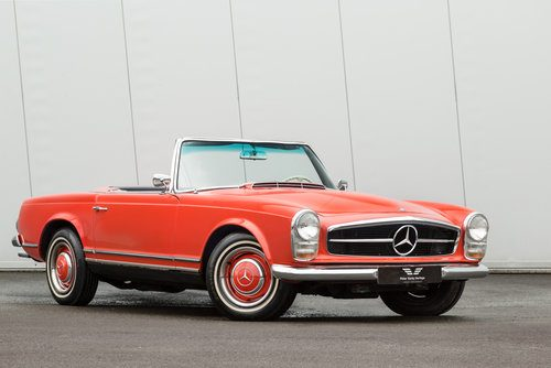 For Sale 1967 Mercedes Benz 230sl Pagoda Classic Cars Hq