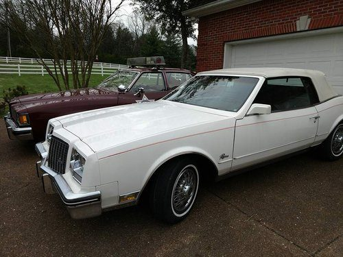 for sale – 1983 buick riviera convertible collector car   classic