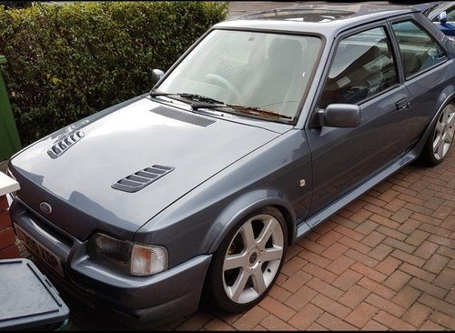 for sale 1989 ford escort rs turbo classic cars hq. Black Bedroom Furniture Sets. Home Design Ideas
