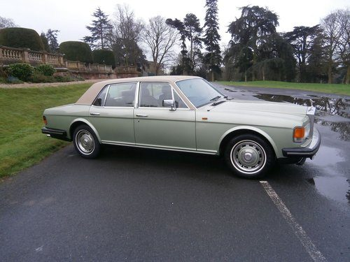 For Sale 1982 1988 Rolls Royce Silver Spirit Iii With A