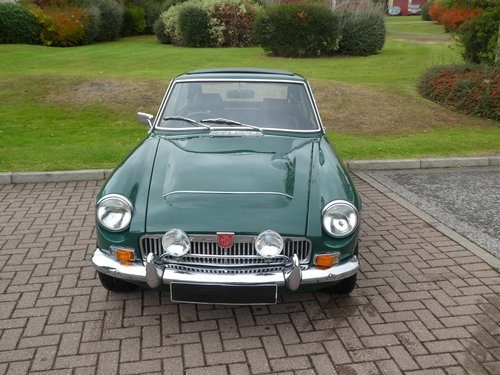 For Sale – MGC GT – British Racing Green (1968)   Classic