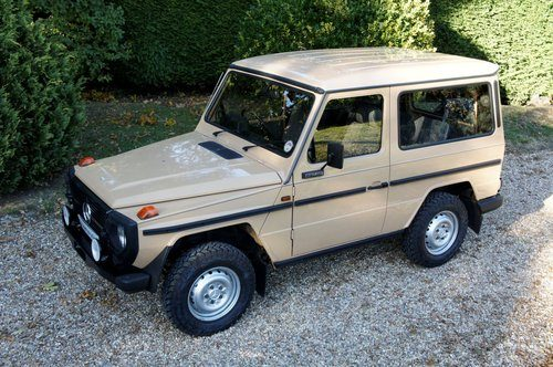 For Sale – 1985 Mercedes-Benz 230 GE G Wagon 4 Speed Manual