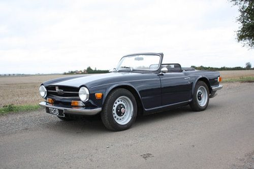 For Sale – 1970 TRIUMPH TR6 WITH OVERDRIVE FOR SALE