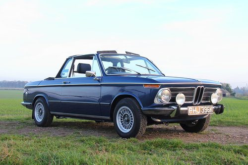 watch 688d0 f3fdc For Sale – 1972 BMW 2002 BAUR Cabriolet – on The Market ...