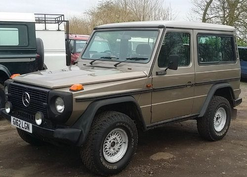 For Sale – Classic G-Wagon 1989   Classic Cars HQ