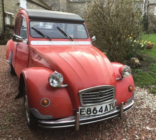 1988 Citroen 2CV Special, With Galvanized